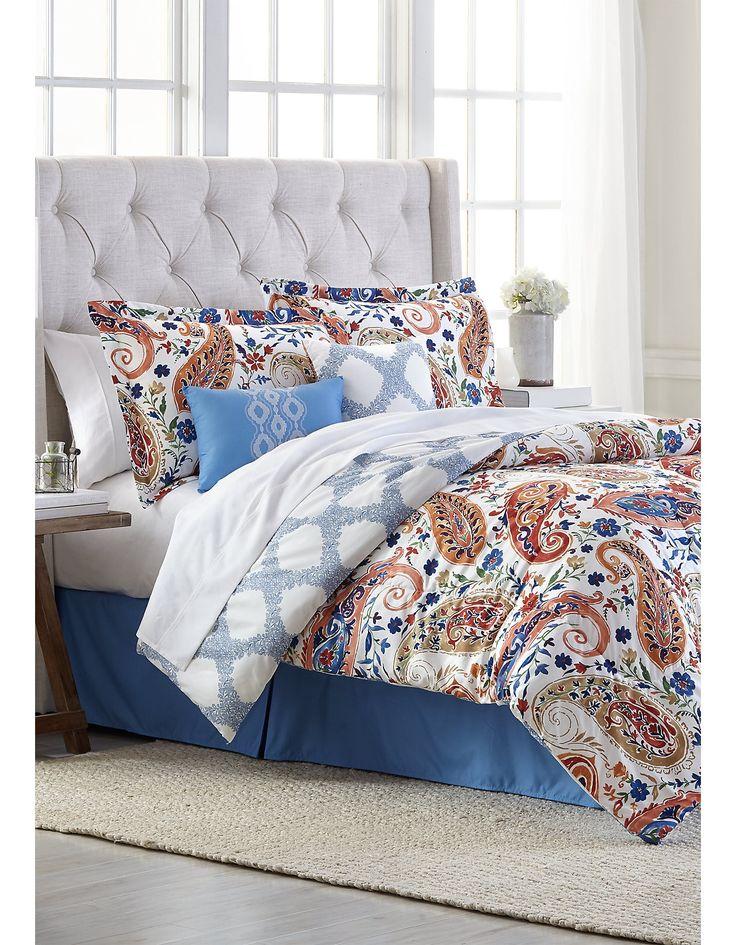 Modern. Southern. Home.™ Ireton Reversible 6 Piece Comforter Set