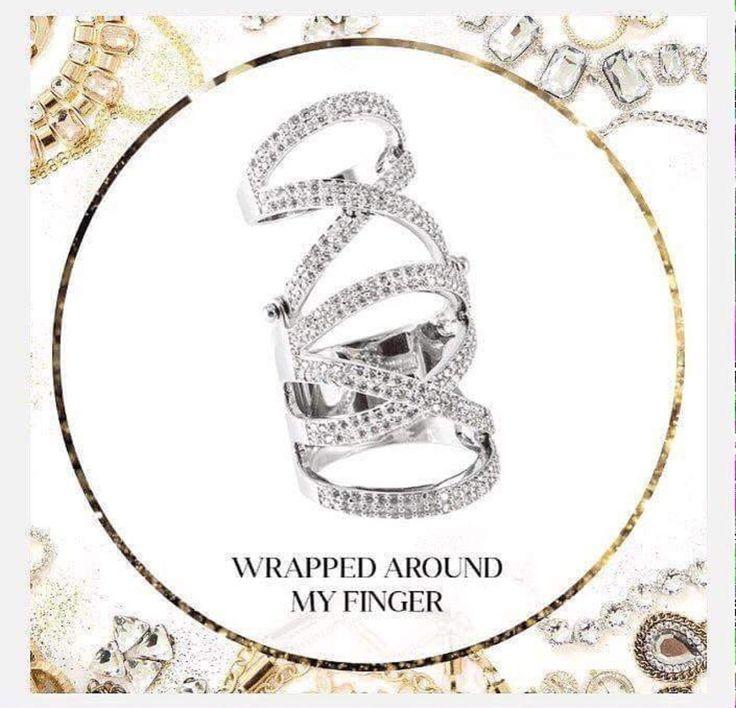 Traci Lynn Fashion Jewelry   My Favorite:  Wrap Around My Finger Ring  www.tracilynnjewelry.net/party/24276