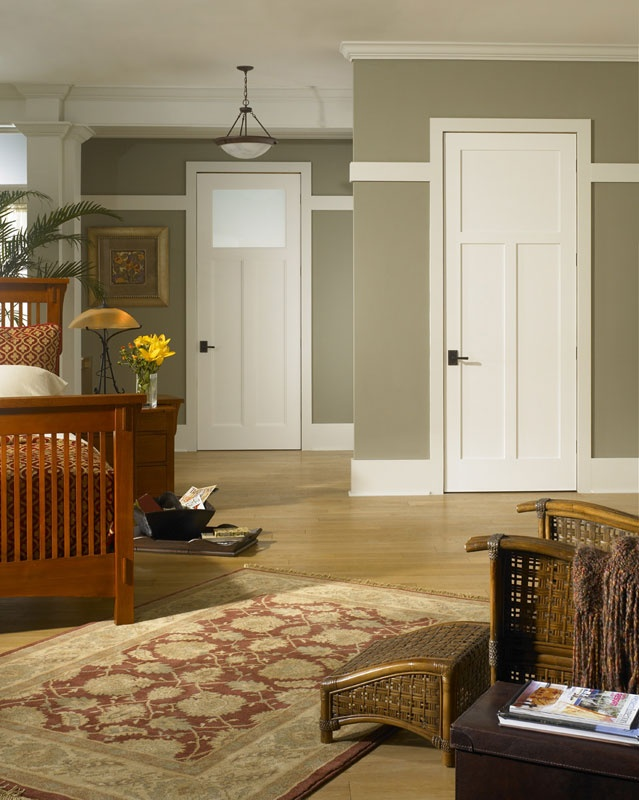 Best Arts Crafts Mission Style Images On Pinterest - Arts and crafts interior paint colors