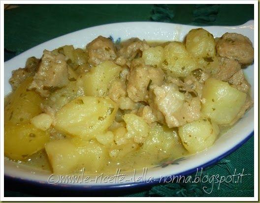 Le Ricette della Nonna: Spezzatino di soia con cipolle e patate