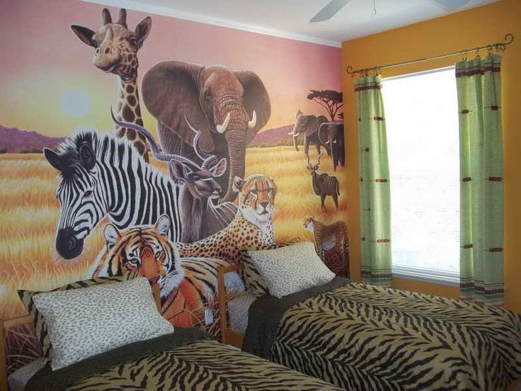 Bust Of Safari Bedroom Decor Ideas