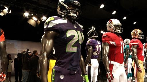 Nike Shows NFL Gear  League's New Uniform Supplier Will Launch Consumer Line at End of April