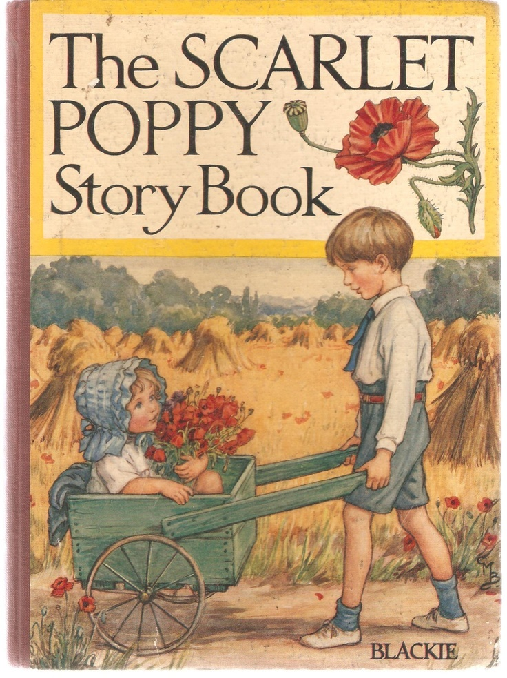 'THE SCARLET POPPY STORY BOOK '- BLACKIE, ill. Cicely Mary Barker   eBay