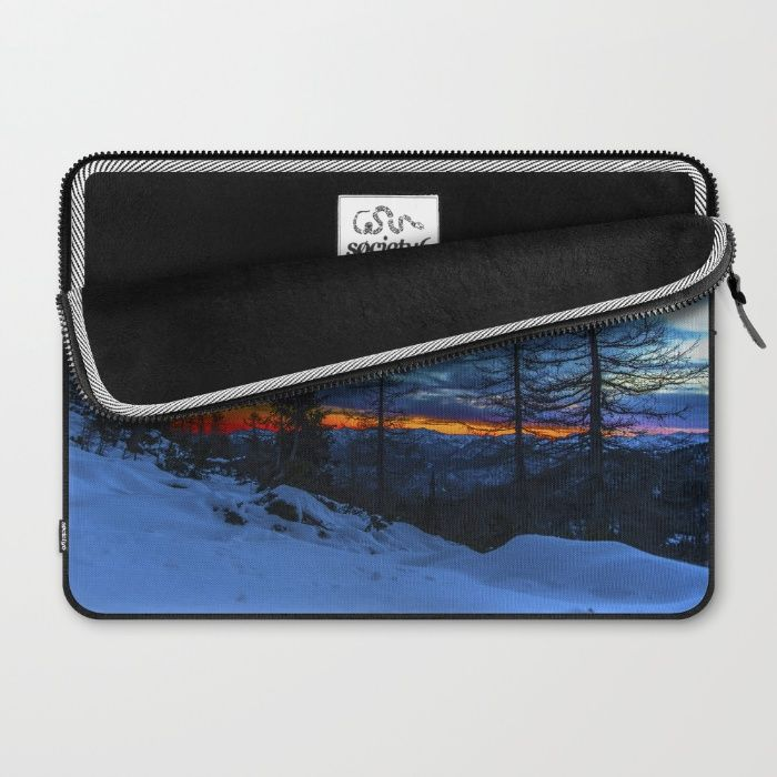 Warm Streak 1 Laptop Sleeve by Mixed Imagery | Society6