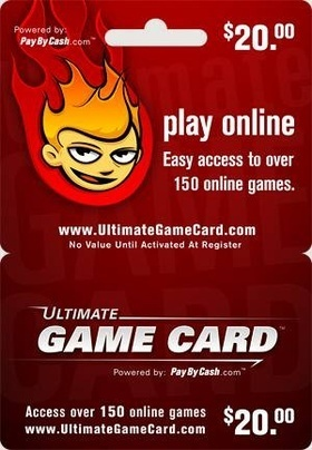The $20 Ultimate Game Card!