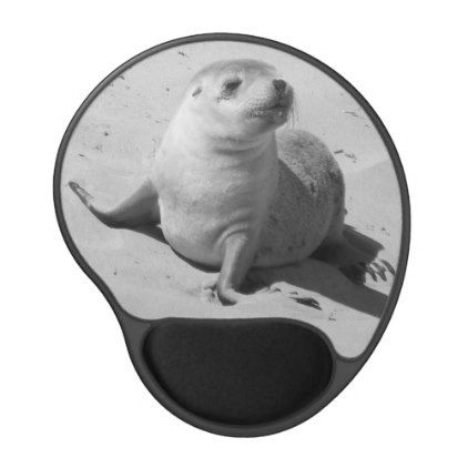 Baby Seal Gel Mouse Pad - create your own personalize