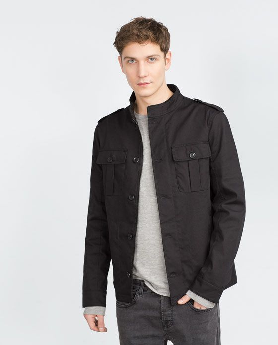 COTTON SAFARI JACKET from Zara, 89.90 USD