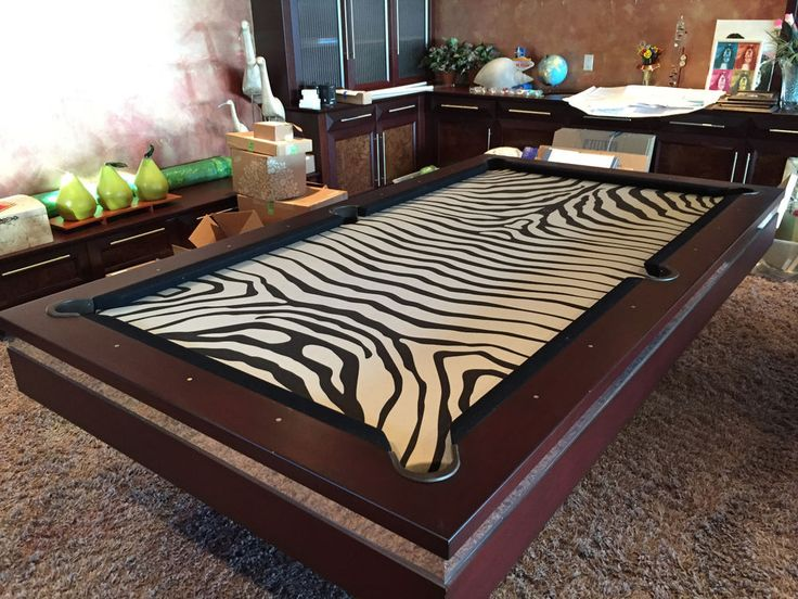 Olhausen Pool Table with Custom made top, Very cool, great condition #Olhausen