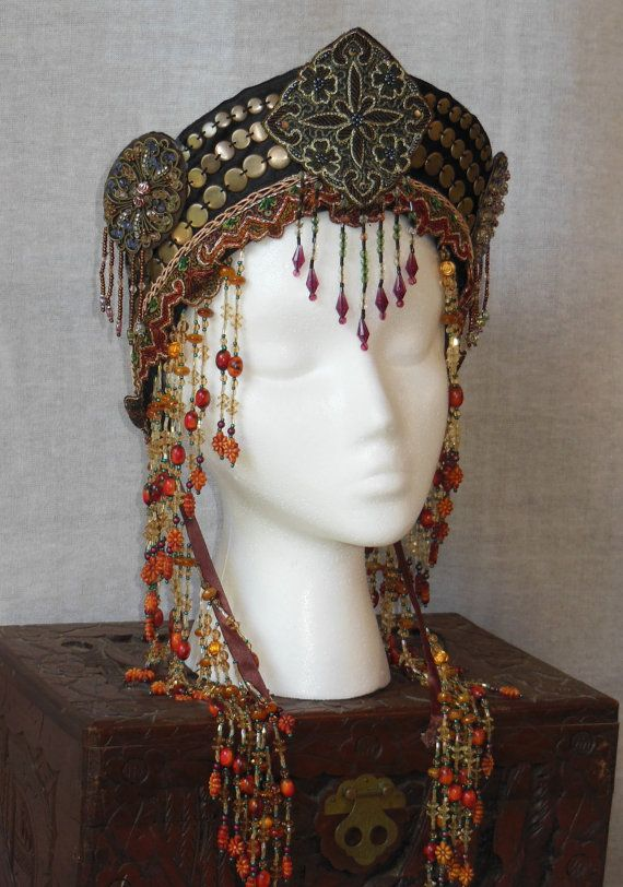 Bohemian Tribal Fusion Persian Belly Dance Fantasy by MIMSYCROWNS, $145.00