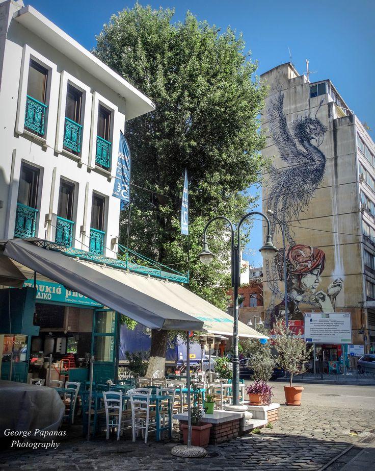 Η μέρα ξεκινάει... Λαδάδικα, Θεσσαλονίκη Thessaloniki