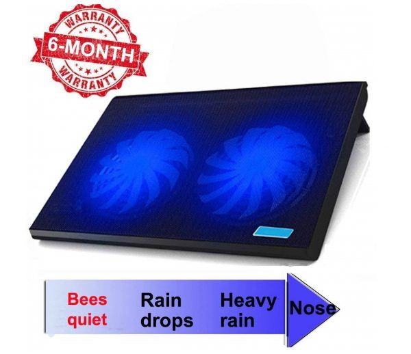 9 Office Laptop Cooling Pad Big 2fans Super Quiet Double Sides Built In Usb Line Back Feet Stand Laptop Fan Best Laptops Cooler Reviews
