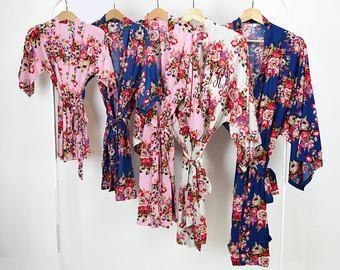 Pink Bridesmaid Robe