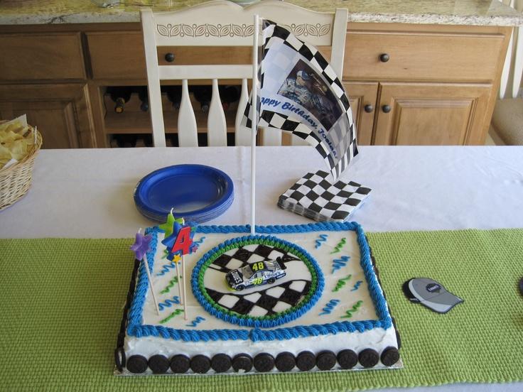 D Nascar Cake Pan