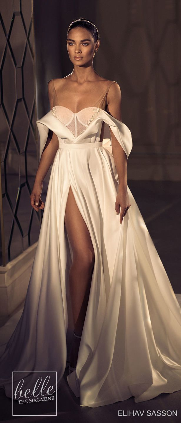 eb86516d9641 Elihav Sasson Wedding Dresses 2019 - Enamoured Collection | Off the  shoulder ball gown wedding dress