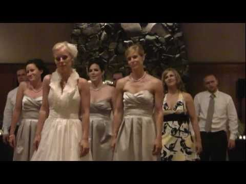 The BEST Wedding Thriller EVER Bride Bridesmaids And Groomsmen All Do