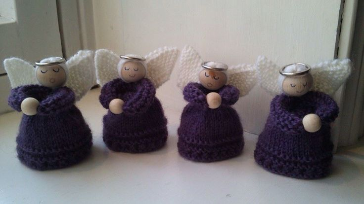 Purple angels