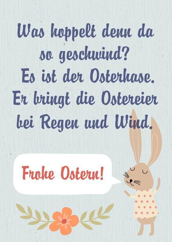 Frohe Ostern Karte.30 Lustige Ostergrusse Kostenlos Zum Download Verschicken