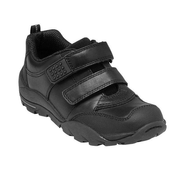 Boys Scuff Resistant School Shoes