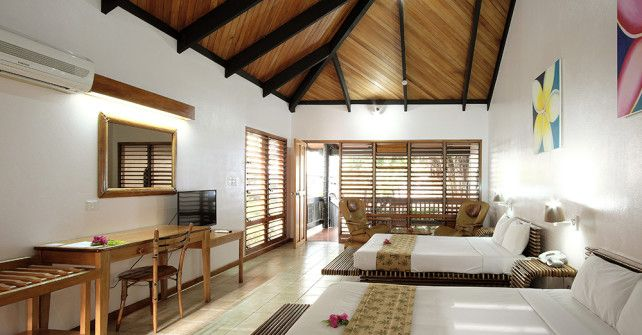 Spacious Clean and Comfortable Accommodations | Anchorage Beach Resort Fiji