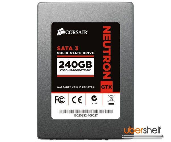 CORSAIR Neutron GTX Series 240GB Solid State Drive