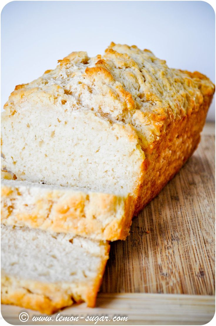 Honey Beer Bread.  I used to make beer bread all the time, but I like the addition of honey in this recipe.