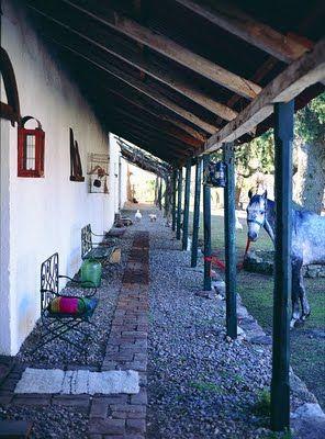 10 images about mexican patio on pinterest san miguel hacienda style and mexican hacienda - Ideas casas de campo ...