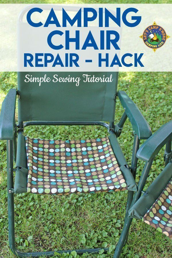 Strange Camping Chair Repair Hack Chair Repair Camping Chairs Caraccident5 Cool Chair Designs And Ideas Caraccident5Info