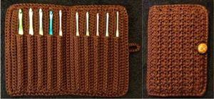 Free Ninja Crochet Pattern | Keep Your Hooks Happy with 10 Free Crochet Hook Case Patterns!