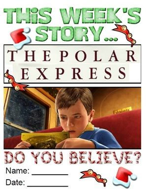 Links to activities for the Polar Express