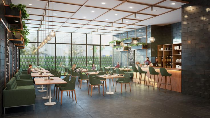 Contemporary & Luxurious! The Beacon Cafe offers a warm, intimate & festive atmosphere presenting sustainable living.  Now have a cup of coffee and save the world!