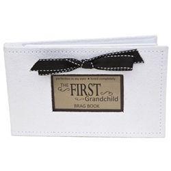 First Grandchild Brag Book | 1st Grandchild Picture Album | Gift for First Time Grandparent