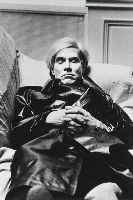 Helmut Newton: Andy Warhol, Paris, 1974 - @Grand Palais (24 mars-17 juin 2012)