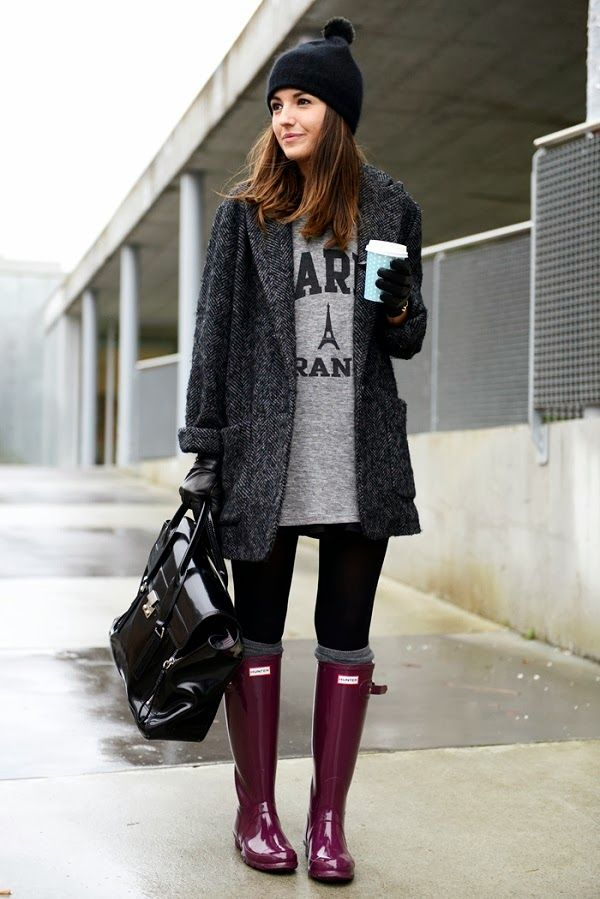 black and gray with plum hunter boots stylish gambino pinterest hunter boots hunters. Black Bedroom Furniture Sets. Home Design Ideas