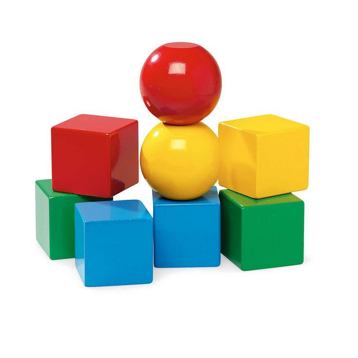 BRIO - Toddler Wooden Magnetic Building Blocks