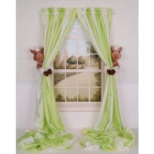 Curtain Critters Plush Barnyard Cowboy Cowgirl Brown Pony Curtain Tieback, Car Seat, Stroller, Crib Toys Set (2) $24.95