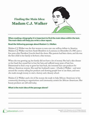 madam c j walker first african One of america's great rags to riches stories and a pioneer not only for women, but also african americans, madame cj walker blazed a path as the first black.