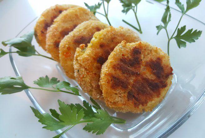 Retete Culinare - Chiftele de dovlecei la cuptor