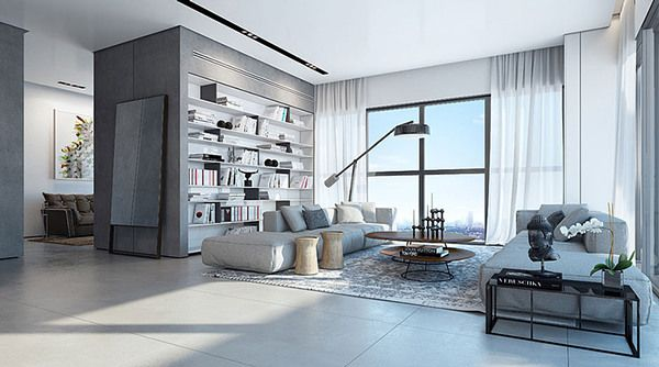 W Boutique Tower Apartment by Ando Studio on Behance