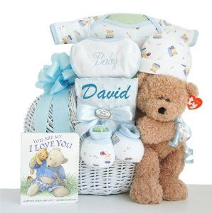25 unique baby boy gift baskets ideas on pinterest baby shower gift baskets by karranessian personalized oh boy little miracle baby boy gift basket baby negle Images