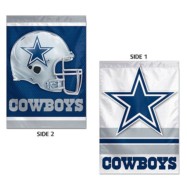 NFL Dallas Cowboys Vertical 2-Sided Flag at shop.dallascowboys.com