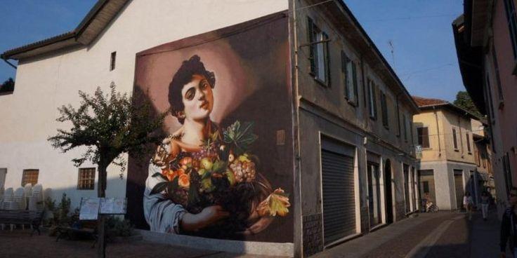 Caravaggio sui muri di Varese, torna lo street artist amante dei classici