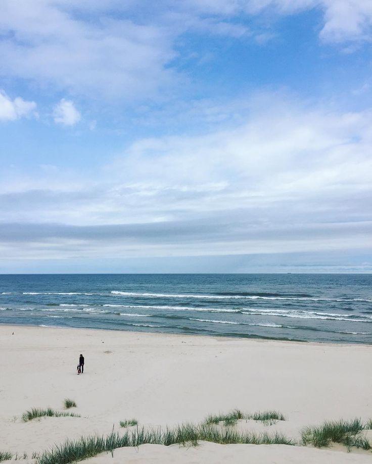 Dzień idealny  #polskiemorze #wypoczynek #relaks #rodzinnie #pogodajakzwykledopisala #opalanianiebedzie by gosiakostrzak