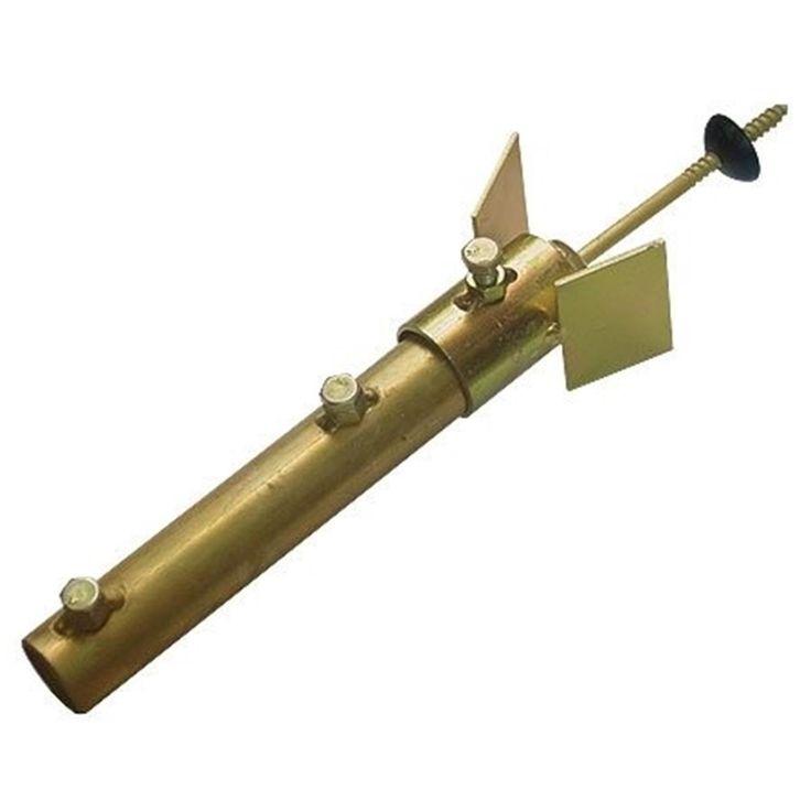 Suporte de Antena para Telha Brasilit Forma Tubo 3/4 Pol OEM - Suporte de Antena para Telha Brasilit Forma Tubo 3/4 Pol OEM - OEM