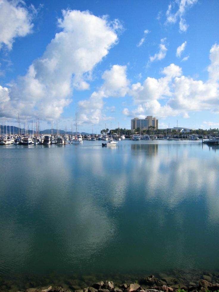 Townsville Marina & Casino http://www.budgettraveltalk.com/2013/01/22/tuesday-townsville-reflections-boat-marina-strand/