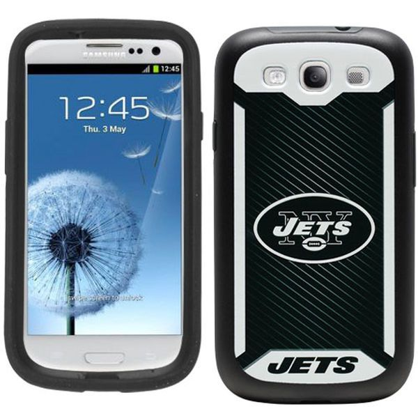 New York Jets Rugged Galaxy S3 Phone Case - $14.99