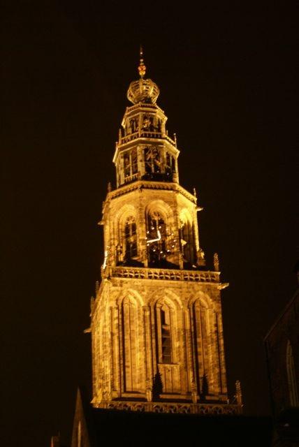 Martini Tower, Groningen, Netherlands.