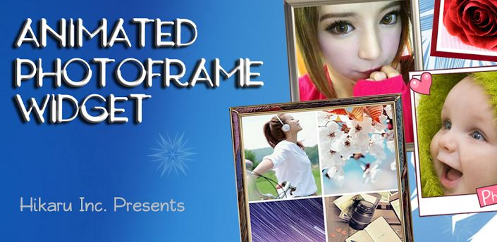 It is the most gorgeous and the most powerful photo player application. It is the best Photo Widget with elegant photo frames for Android. This Animated Photo Frame Widget can help users to create their own unique photo widget. The app differs from other photo widgets &  offers up to twenty picture frames & 7 transition modes during slideshow process.