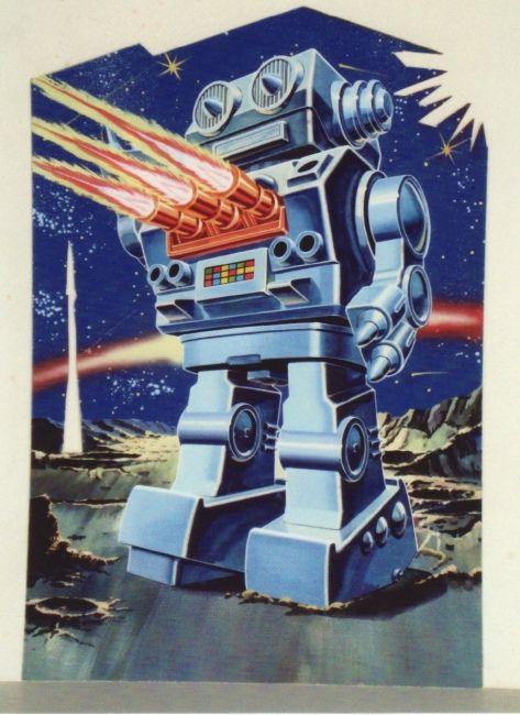 Vintage Illustrated Robot