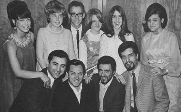 Cool late 1960s of The Four Seasons (Joe Long, Tommy DeVito, Frankie Valli, and Bob Gaudio) at the Roostertail in Detroit!