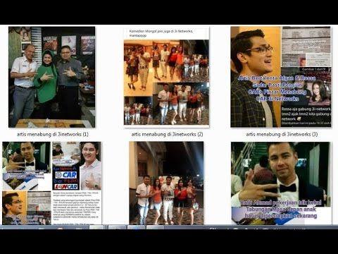 BUKTI PARA  ARTIS INDONESIA MENABUNG di TABUNGAN 3I-NETWORKS PT  AJ CENT...